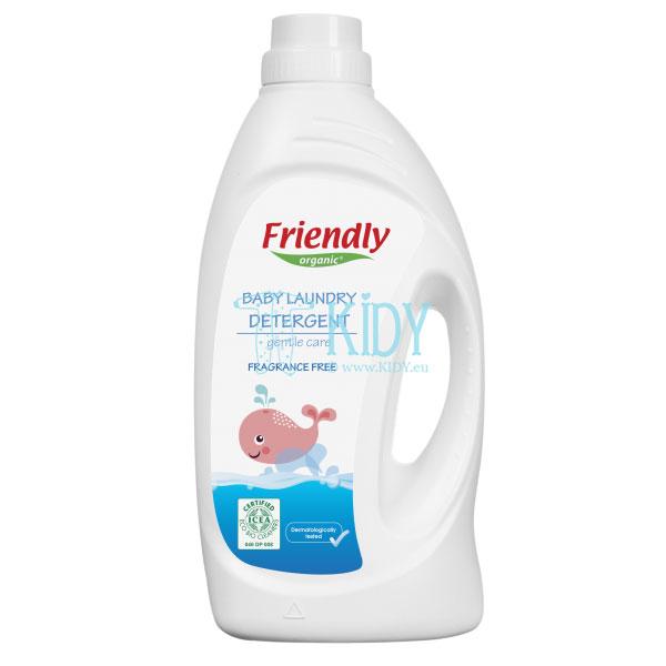 Детский жидкий стиральный эко порошок (Friendly Organic)