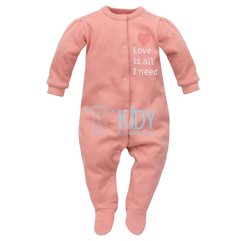 Ecru SPRING LIGHT sleepsuit