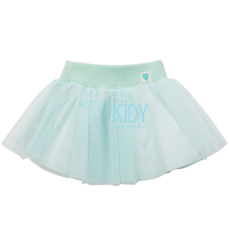 Mint color SPRING LIGHT skirt
