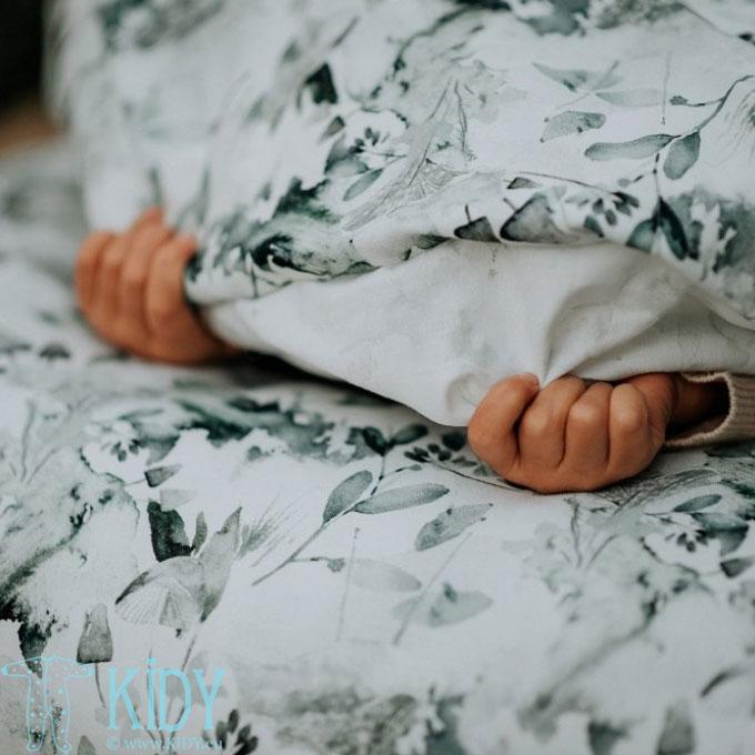Patalynės komplektas Sage Green: antklodė + pagalvė (MAKASZKA) 8
