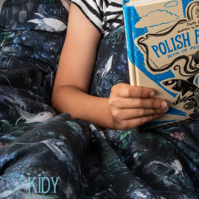 Patalynės komplektas Magic Forest: antklodė + pagalvė (MAKASZKA) 8