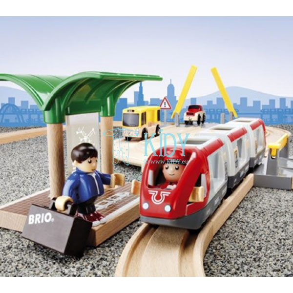 Rail & Road Travel Set (Brio) 8