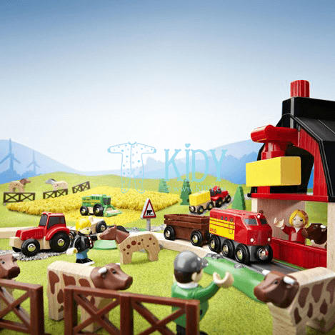 Farm Railway Set (Brio) 8