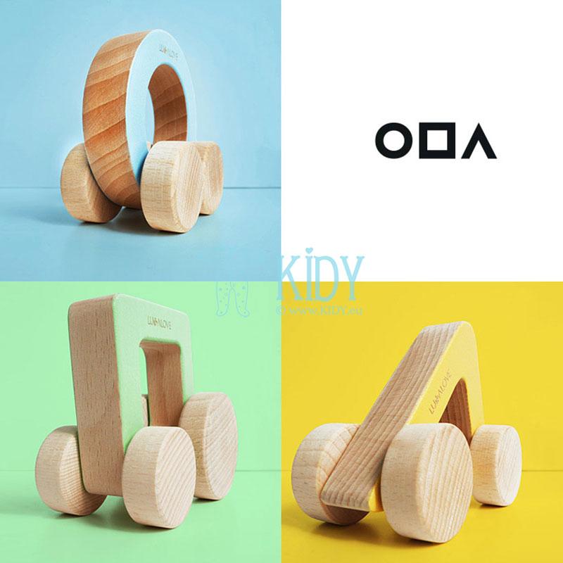 Medinė mašinėlė - trikampis ODA (Lullalove) 8
