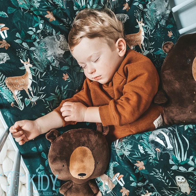 Patalynės komplektas Woodland: antklodė + pagalvė (MAKASZKA) 8