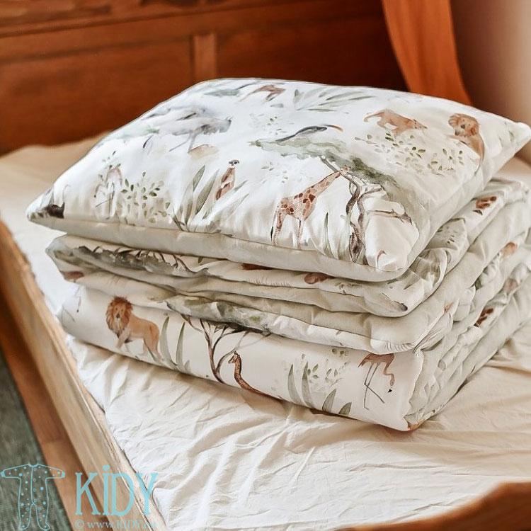 Patalynės komplektas Sawanna: antklodė + pagalvė (MAKASZKA) 8
