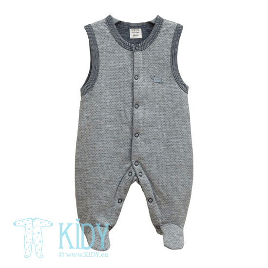 Grey footed romper MARSELIS
