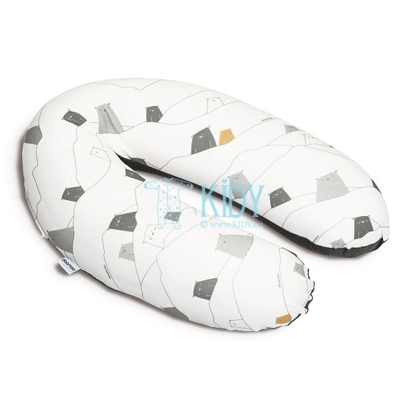 BUDDY Bear Grey maternity pillow