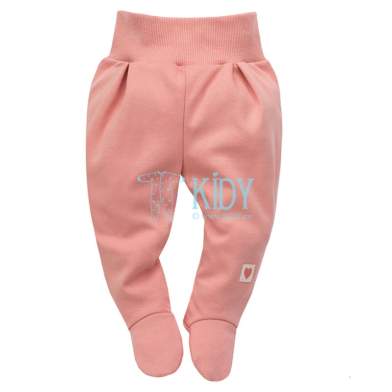 Pink SPRING LIGHT footed pants