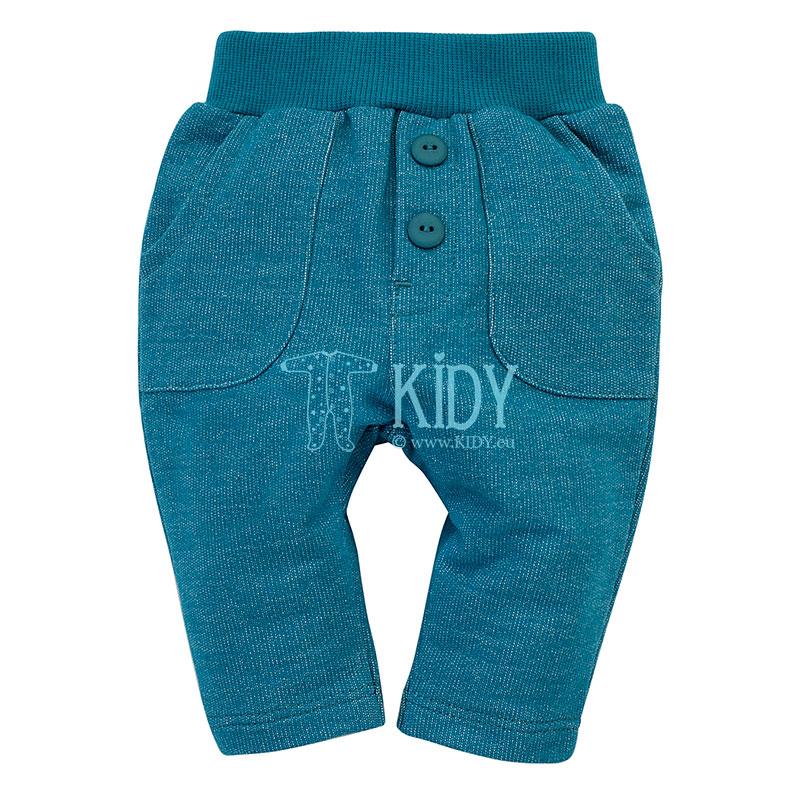 Turquoise LITTLE CAR pants