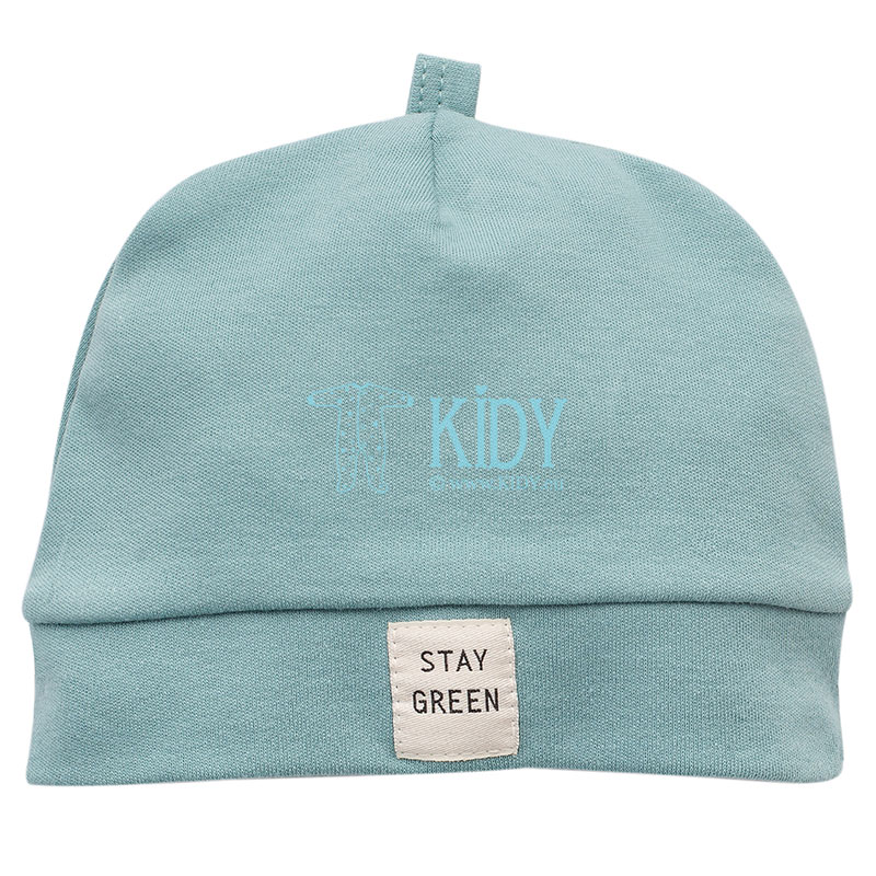 Turquoise STAY GREEN hat