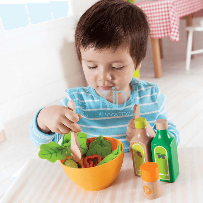 Набор овощей для салата GARDEN SALAD (Hape) 9