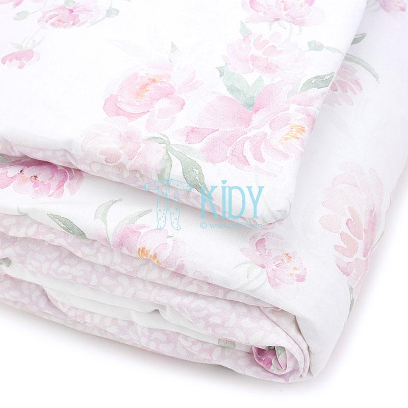 Patalynės komplektas Peonie: antklodė + pagalvė (MAKASZKA) 9