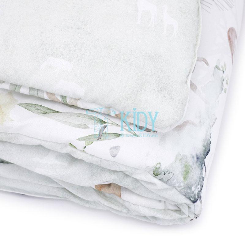 Patalynės komplektas Sawanna: antklodė + pagalvė (MAKASZKA) 9